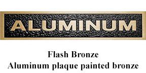 Custom Aluminum Plaques