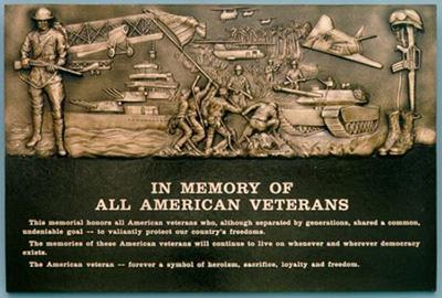 Cast Military Plaque