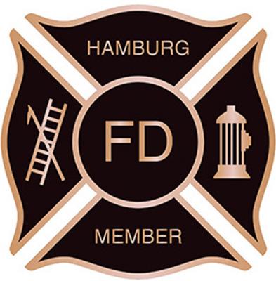 Cast Fireman plaque