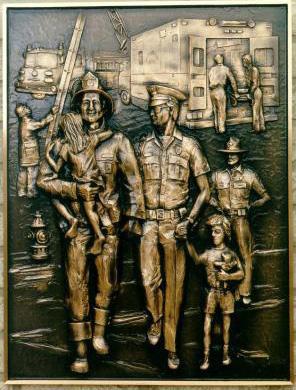 Cast plaque
